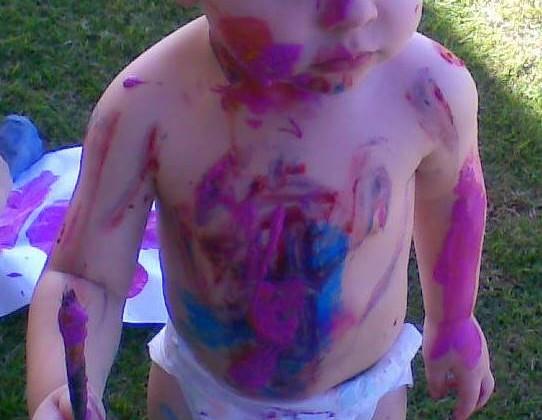 Body Paint Fun