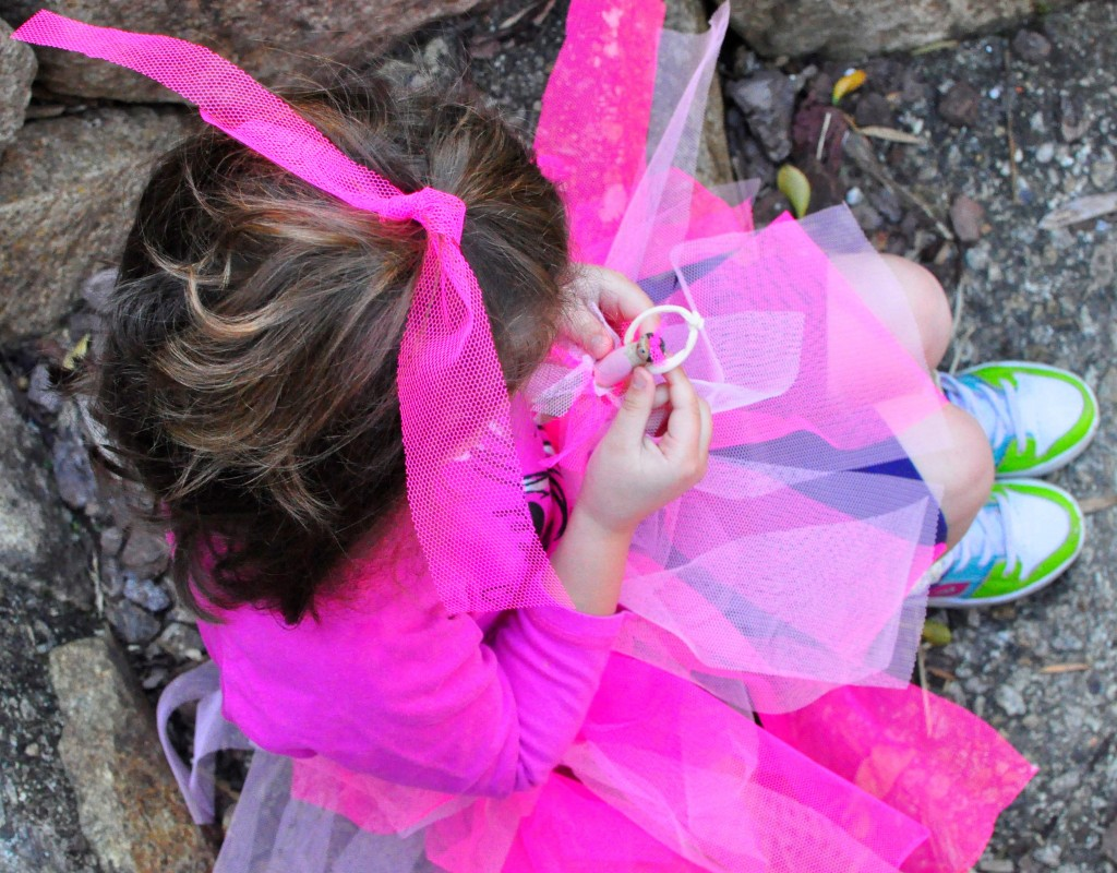 how to make a tutu -- make a circle the size of your child