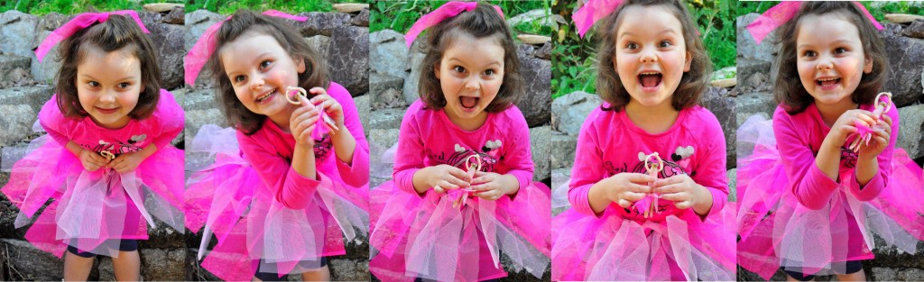 how to make a tutu -- playing with the tutu