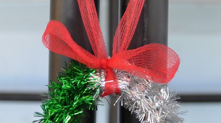 Christmas Wreath Tree Decoration