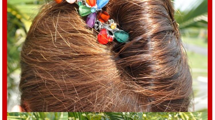 Elegant Christmas Hair-Do