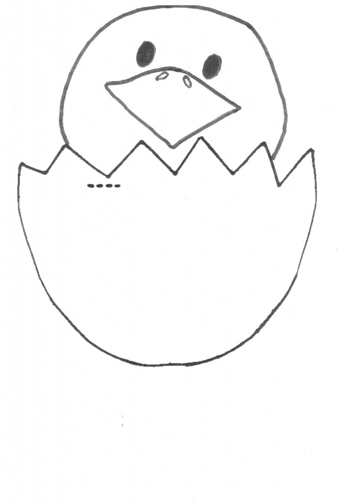 Easter egg craft new life be a fun mum for Easter chick templates free