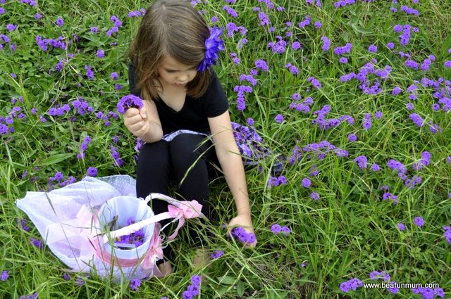 Take time to pick flowers