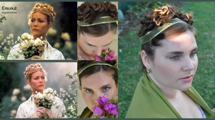 Period Drama Hair Style: Emma