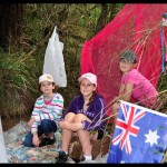 school holiday ideas -- op shop cubby house