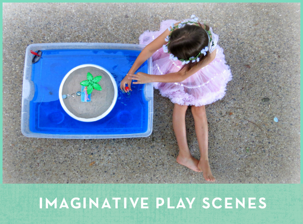 Imaginative Play Scenes for Kids