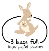 Get and Give: 3 Bags Full Finger Puppet Pouch