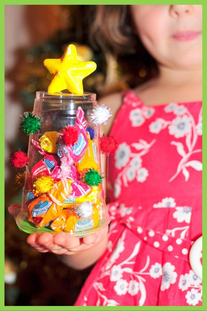 Plastic Cup Christmas Tree craft