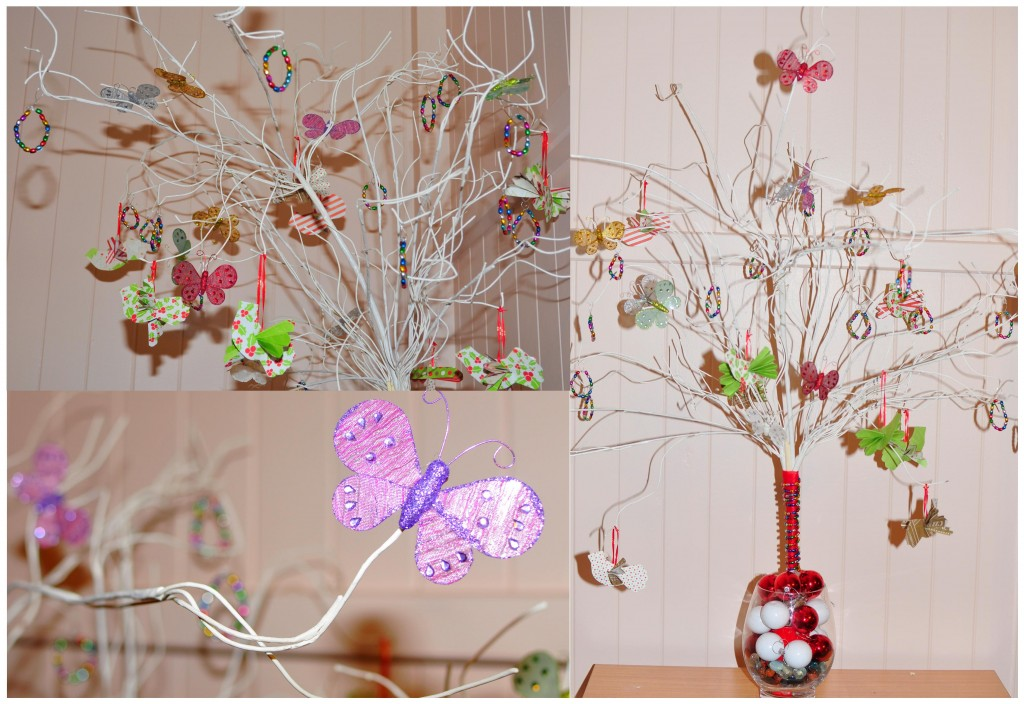 the christmas tree handmade decorations be a fun mum