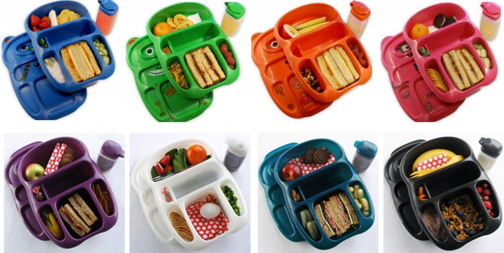 Bento Environmentally Friendly School Lunchboxes colours
