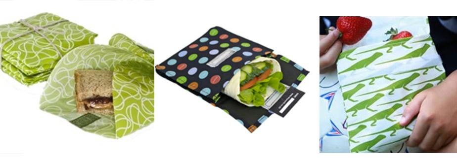 environmentally friendly school lunch box sandwich wrap