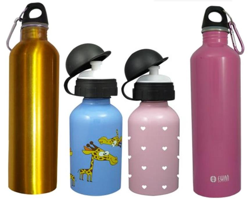 ewan stainless steel drinking bottles