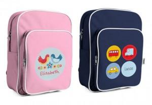 mooo personalised school backpacks