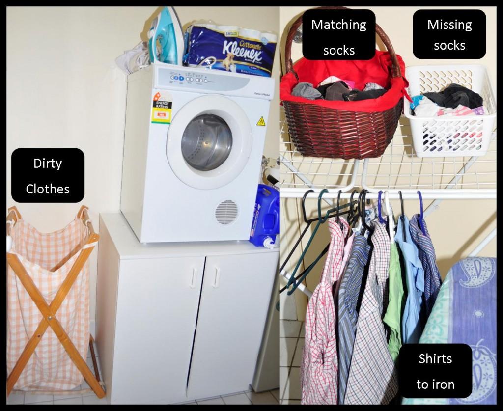 Organising the Laundry