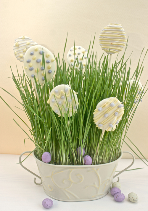 easter egg chocolate centrepiece