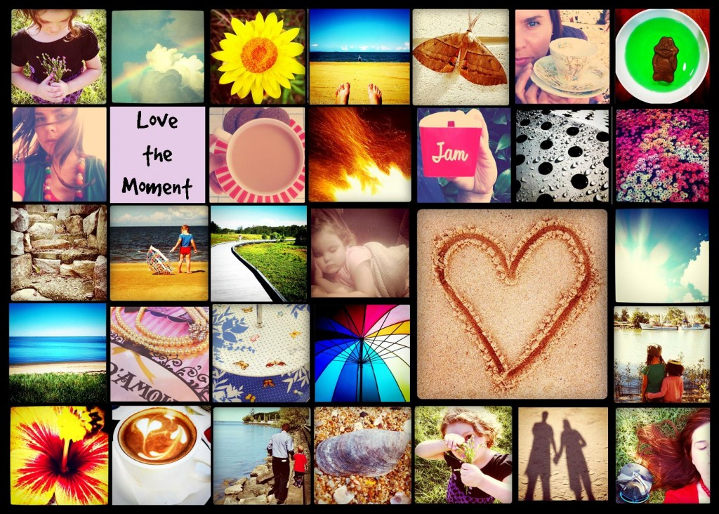 love the moment collage