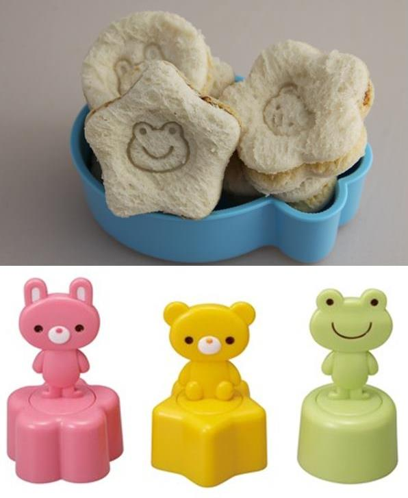 sandwich stamps sandwich shapers sandwich cutters