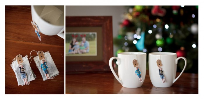 Personalised Photo Tea Bag - gift idea