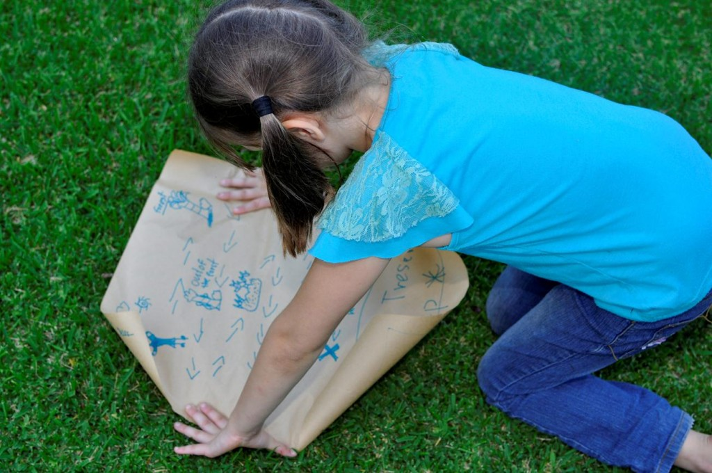 Activities for Kids: Make a treasure map