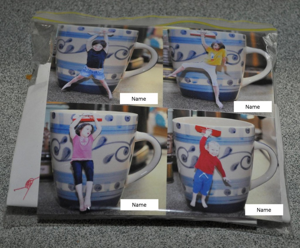 Personalised Photo Tea Bags - Instructions
