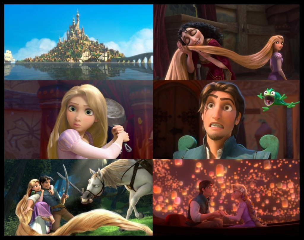 Tangled 2010 on DVD May 11 2011