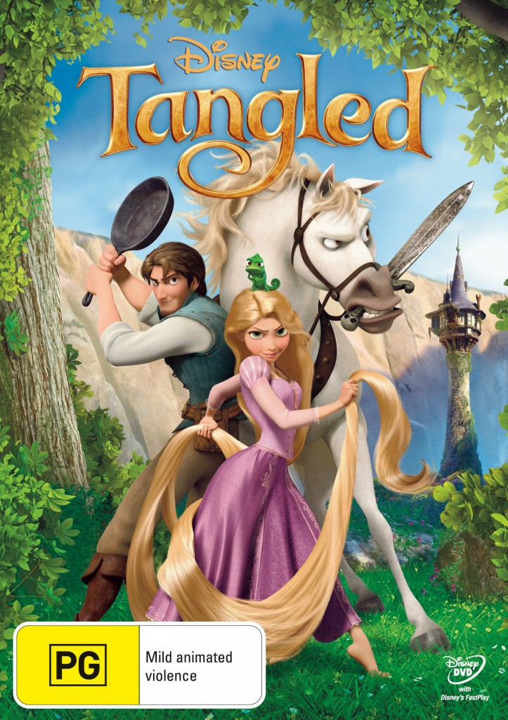 Tangled on DVD 11 May 2011