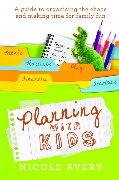 Planning with Kids book by nicole avery