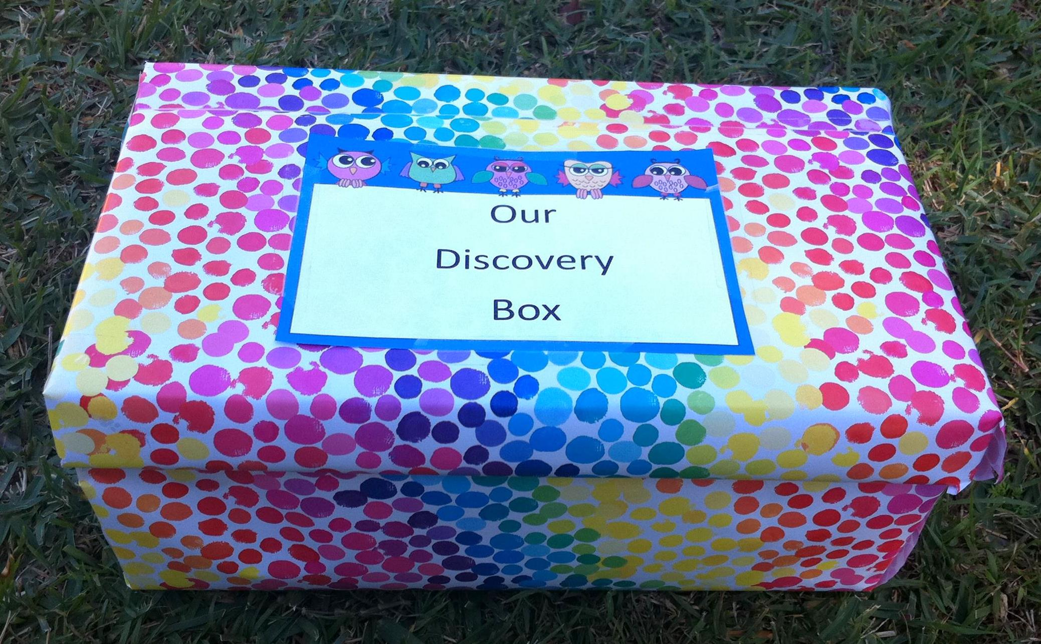 Nature crafts activities make a discovery box be a for What can i make with boxes