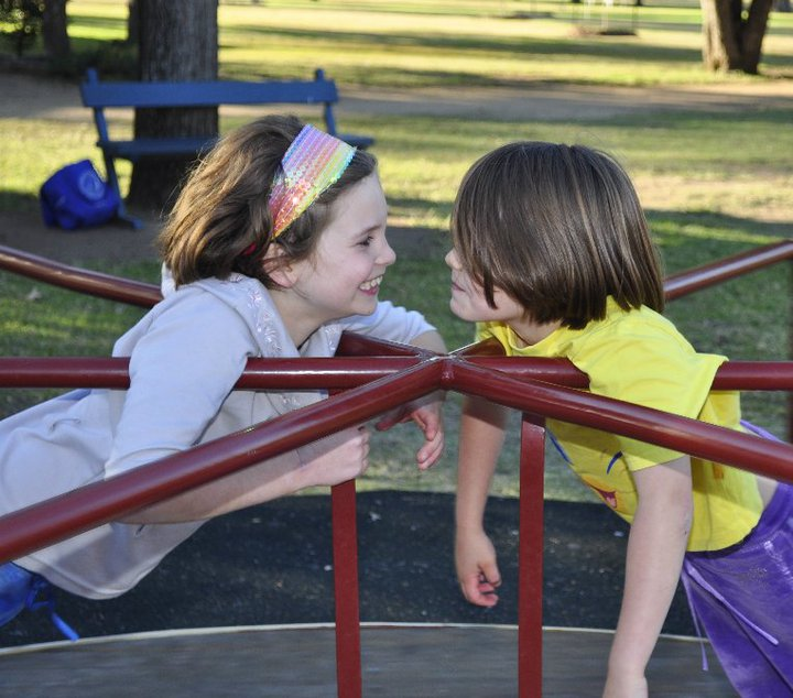 adventurous things to do with kids: find a new park