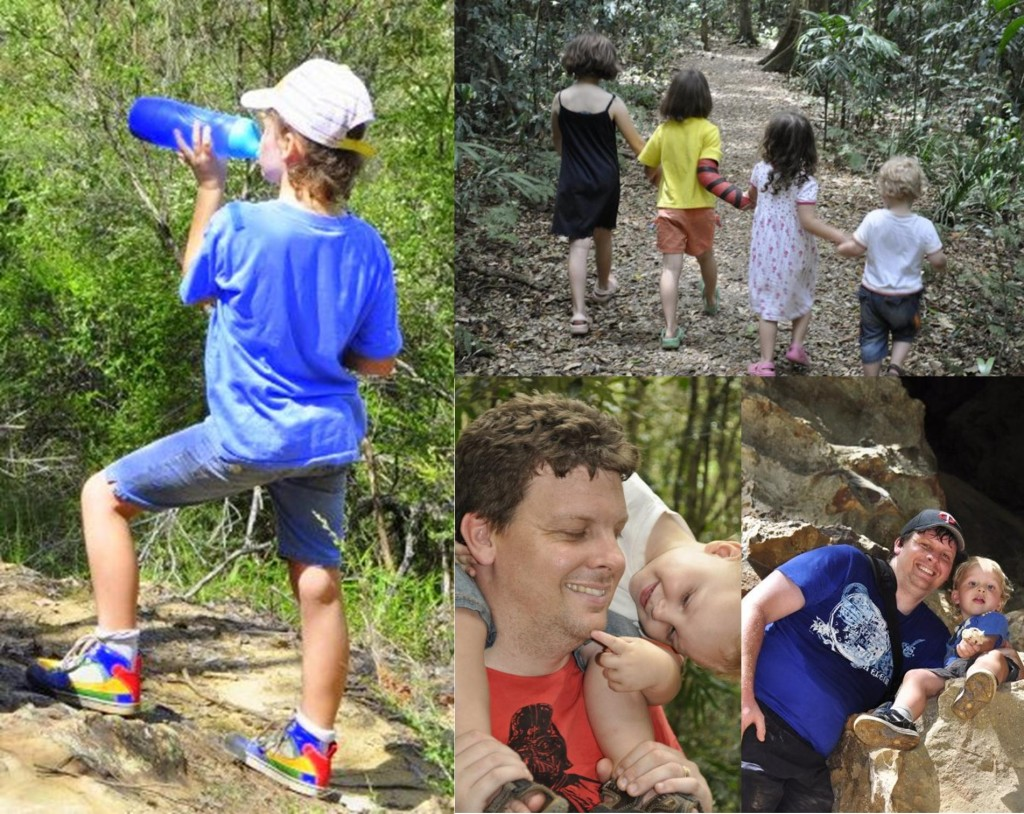 adventurous things to do with kids: hiking and bush walking