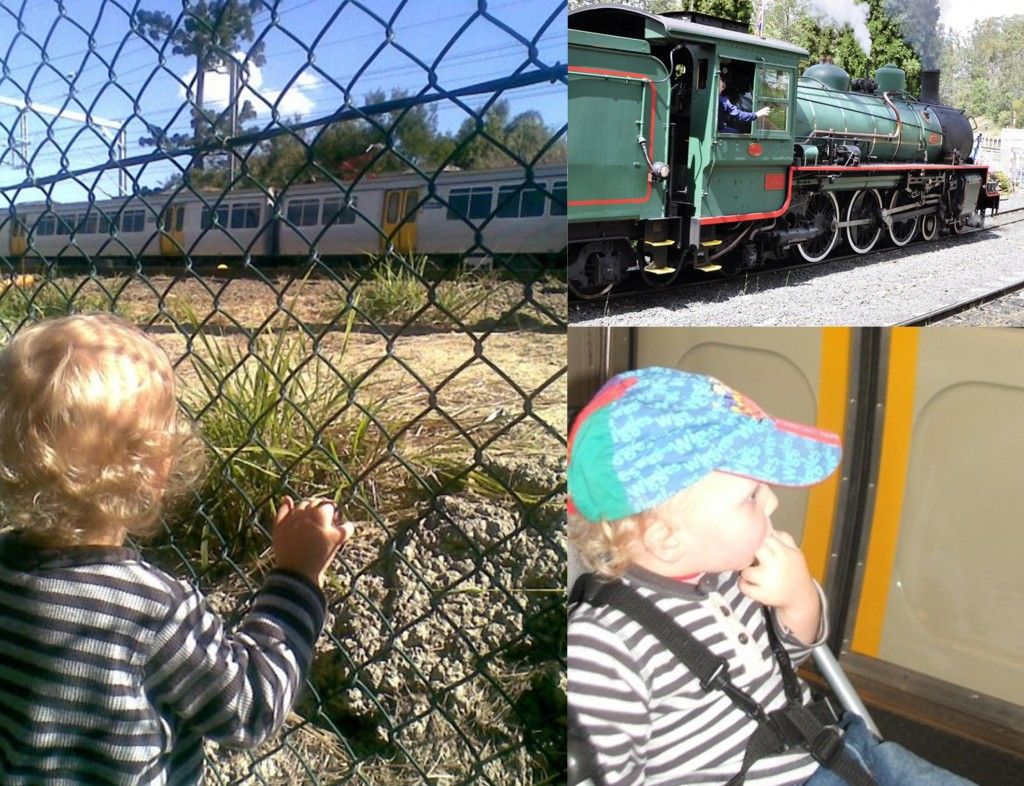 adventurous things to do with kids: ride on a train