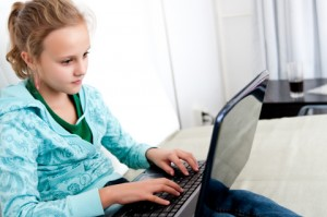 activities for children aged 8 to 12 years: computer time