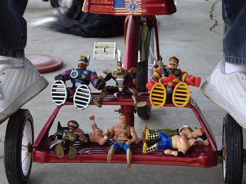 organising children's toys