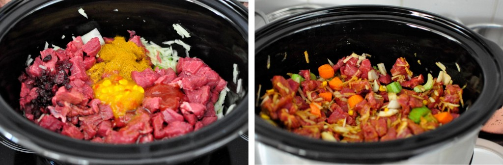 Slow cooker Indian Sweet Curry Beef 2