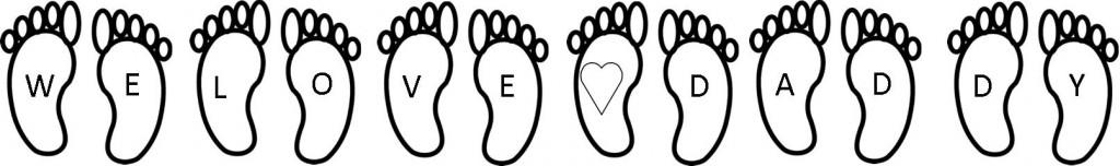 feet photograph six children