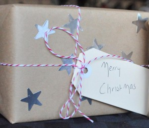 Christmas Wrapping paper simple
