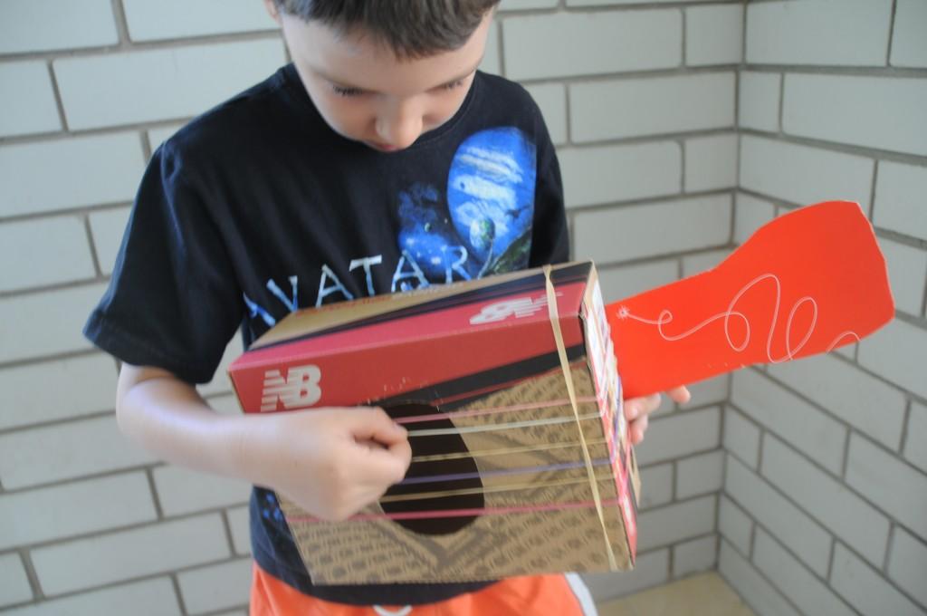 school holiday activities -- musical craft