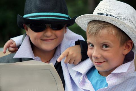 school holiday activities -- pretend play