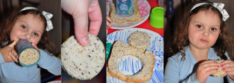 school holiday food ideas bread shapes