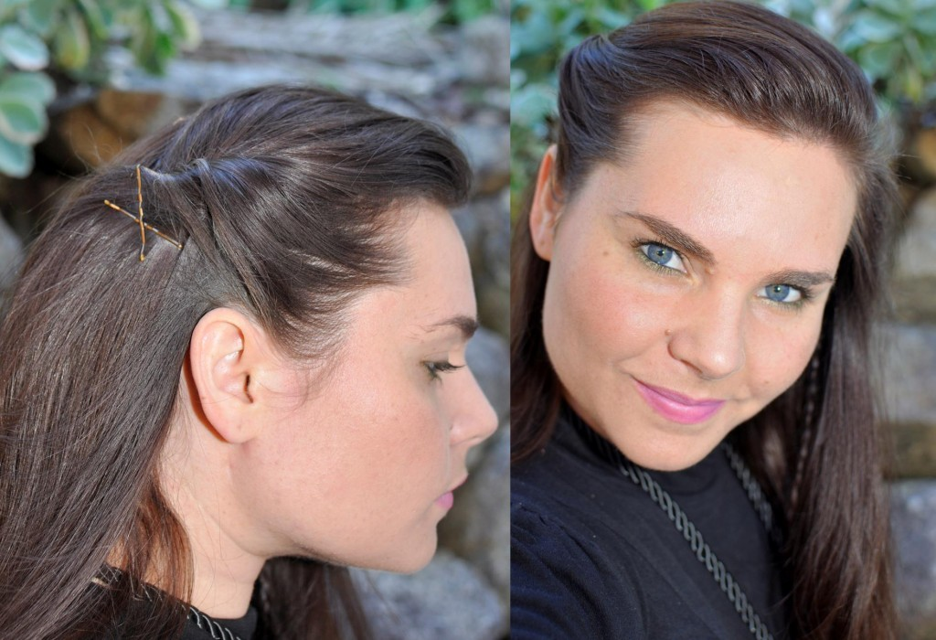 hair style for mums -- bobby pin