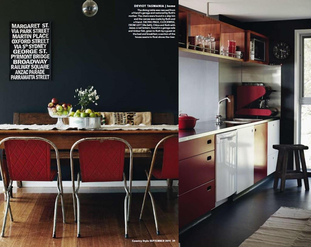 second hand decorating -- kitchen