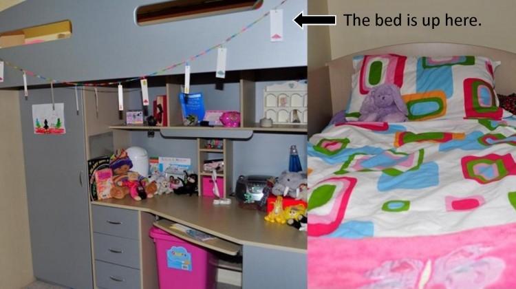 loft bed for children