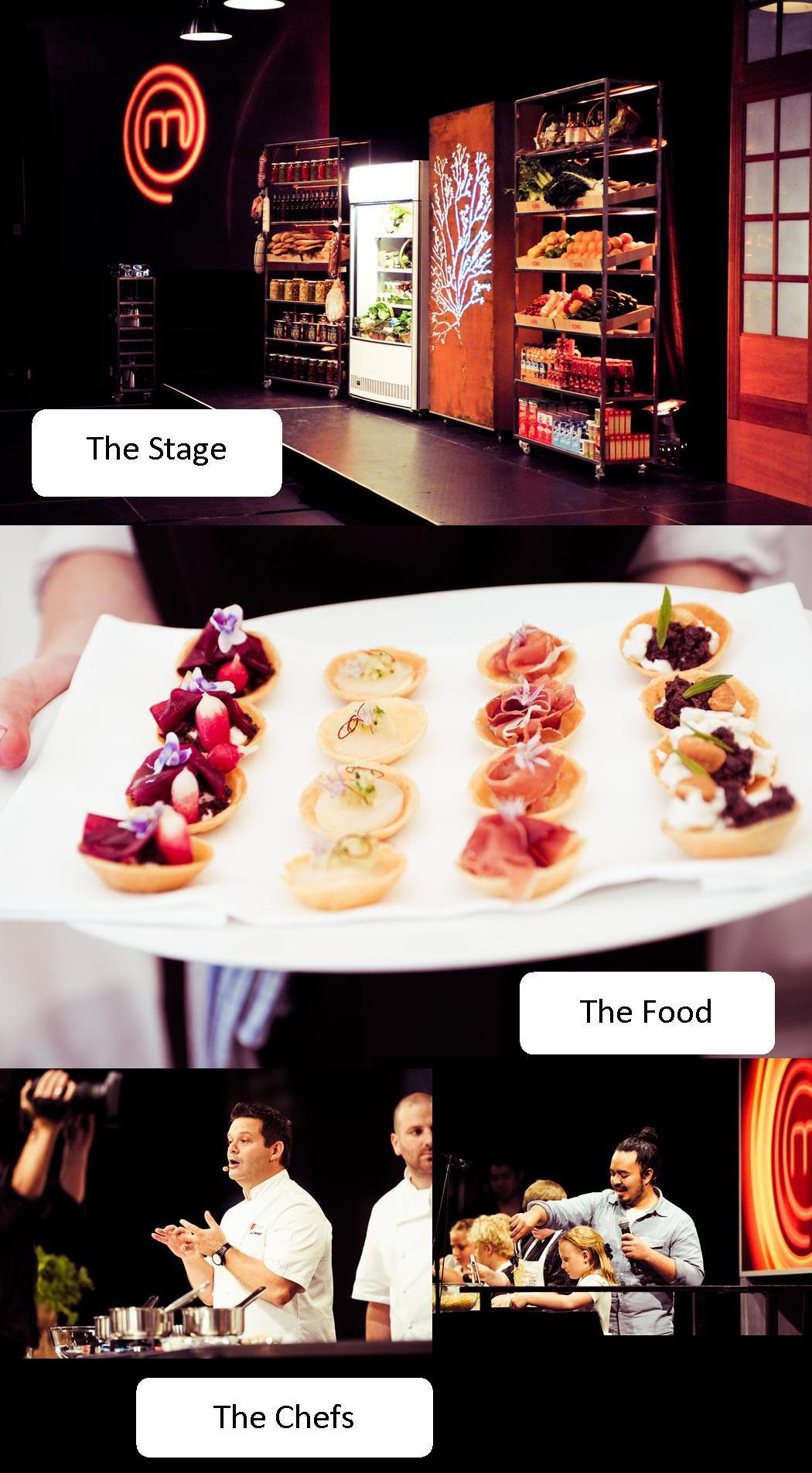 masterChef LIVE 2011 stage