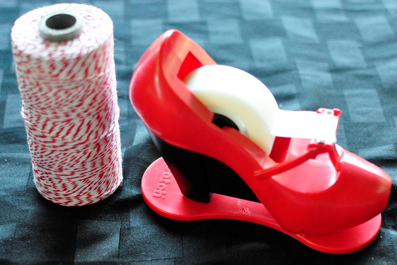 Scotch shoe tape dispenser