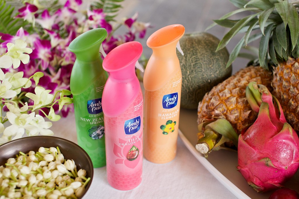Ambi Pur Air Effects Destinations Range Thai Dragon Fruit New Zealand Springs Hawaiian Flowers