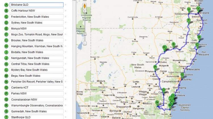 Australian Road Trip 2011