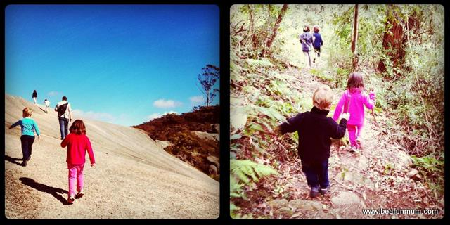outdoor kids -- bushwalking