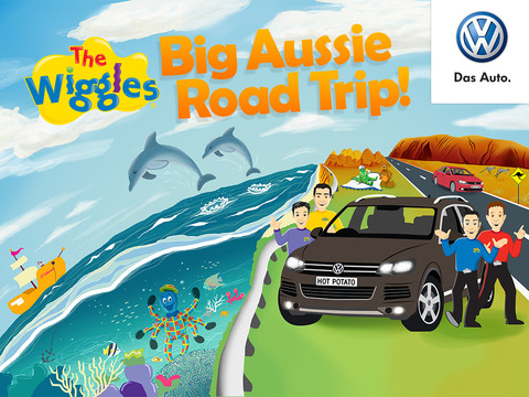 kids road safety wiggles-volkswagen -- wiggle around australia
