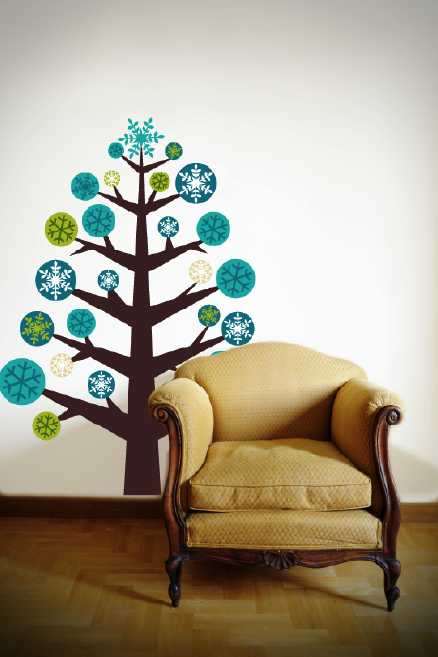 wall sticker Christmas Tree