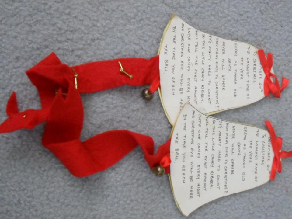 handmade Christmas decorations -- a story 9